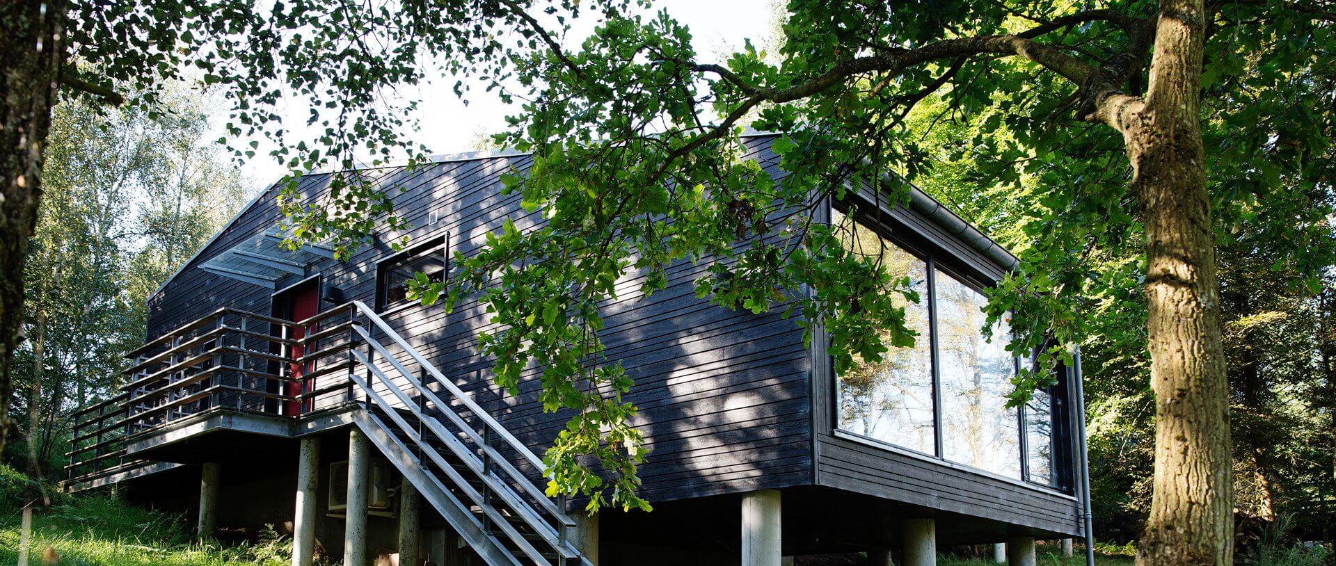 Arkitekttegnet sommerhus